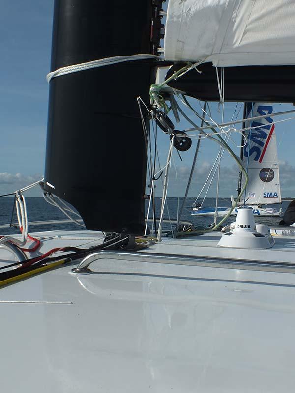 Catamaran Z avec Imoca SMA Paul Meilhat. Location d'un bateau unique avec skipper